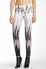 NEW J BRAND JEANS $218 620 MID-RISE SUPER SKINNY IN SHIFT PRINT SZ 30