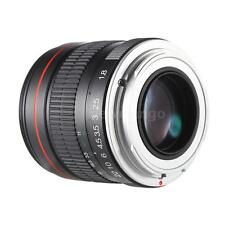 Kelda 85mm f/1.8 Manual Focus Portrait Lens for Canon EOS Camera HOT Q2V5