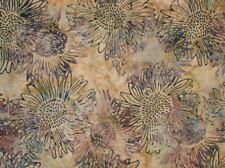 Hoffman Bali Batik Layered Sunflowers F2038-459-Lotus 100% Cotton Batik BTY