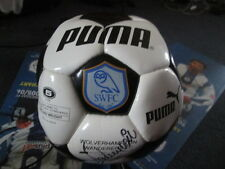Puma Sheffield Wednesday 1999-2000 Squad Signed Football Ball with COA /bi