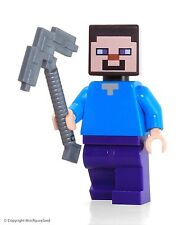 LEGO Minecraft MiniFigure - Steve (From 4 Minecraft Sets)