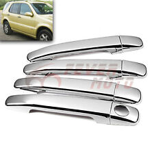 For Mercedes-Benz W163 W208 W202 ML350 ML500 CLK 4DR Chrome Door Handle Cover FM