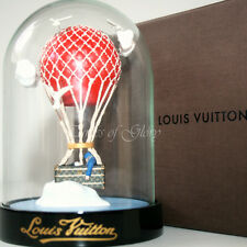 RARE NEW Louis Vuitton LV MALLE AERO Trunk Hot Air Balloon VIP Gift Snow Globe