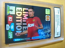 ROBIN VAN PERSIE MANCHESTER UNITED 2013 ADRENALYN XL LIMITED EDITION GRADED 10