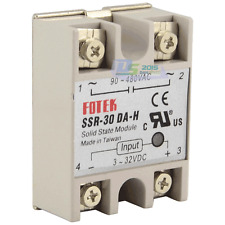 Solid State Relay SSR-30 DA-H DC To AC 30A Single-Phase New Speed