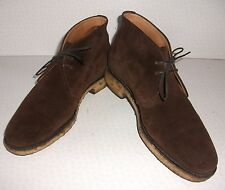 Mens Churchs Andrea Brown Suede Chukka Desert Ankle Boots Shoes UK 7 EU 39