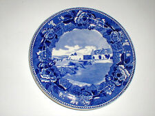 Wedgwood Lake Champlain Fort Ticonderoga NY New York Historical Plate
