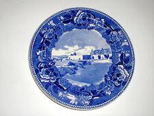Wedgwood Lake Champlain Fort Ticonderoga NY New York Historical Plate
