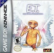 E.T. The Extra-Terrestrial - Game Boy Advance GBA Game