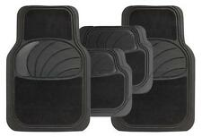 Honda Aerodeck Universal Azura 4PC Black Rubber Carpet Mat Set