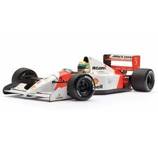 Ayrton Senna 1:18 Minichamps MCLAREN Honda Brazil MP4/7 92 f1 / car model, Mint