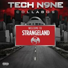 Welcome To Strangeland (Tech N9ne Collabos) - Tech N9ne Collabo (2011, CD NUOVO)