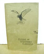 Birds of Western Canada by P.A. Taverner with color plates by Various Artists