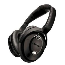Bose QuietComfort 15 Acoustic Noise Cancelling QC 15 TRIPLE BLACK - EXTRA Remote
