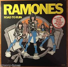 RAMONES ~ Road To Ruin LIMITED EDITION COLORED VINYL LP (NEW & SEALED)