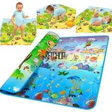 Baby Activity Floor Play Mat Soft Kid Gym Crawl Carpet Eductaional Toy KECP