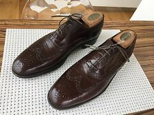 Rare BERLUTI Shoes Perforations type OXFORDS JAMES Richelieu 8,5 42,5 Comme neuf