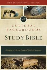 NIV Cultural Backgrounds Study Bible: Bringing to Life the Ancient World of Scri
