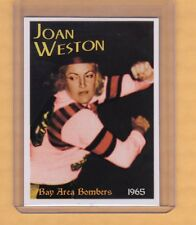 1965 Joan Weston, the Blonde Bomber, SF Bay Area Bombers roller derby star