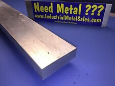 "7075 T651 Aluminum Flat Bar 1"" x 2-1/2"" x 36"" Long--- MILL STOCK"