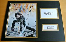 DYNAMO HAND SIGNED AUTOGRAPH 16x12 PHOTO DISPLAY MAGICIAN IMPOSSIBLE & COA