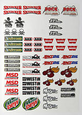 Rc Rock arrastrarse Calcomanías Stickers Rough Rider baja lnfernal