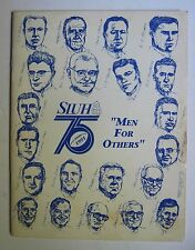 1991 SLUH St Louis University High School Football Yearbook history pics rosters