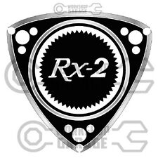 ROTARY STICKERS for RX2 RX3 RX4 RX7 RX8 R100 GT RE - ROTARY RX-2  #01