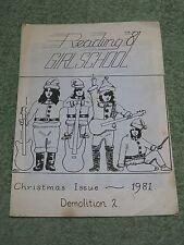 GIRLSCHOOL Demolition rare 1981 Fanzine magazine issue no 2!