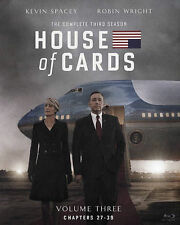 House of Cards: The Complete Third 3 3rd Season Blu-ray Disc 2015 4-Disc Set NEW