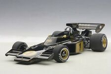 Autoart LOTUS 72E 1973 FITTIPALDI #1 COMPOSITE MODEL in 1/18 Scale. New In Stock