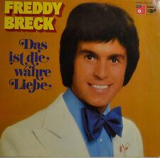 """FREDDY BRECK - DAS IST DIE WAHRE LIEBE 12"""" LP (W 872)"""