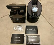 *Used* Citizen Men's Eco Drive Blue Dial Stainless Steel Watch (BU2010-57L)