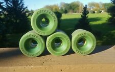 Vintage skateboard wheels Kryptonics C-70 green NICE! 70's/80's old school