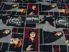Harry Potter fabric GRYFFINDOR CREST PRINT PATCH BY THE HALF YARD NEW