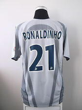 RONALDINHO #21 Paris Saint Germain PSG Away Football Shirt 2001/02 (XL)