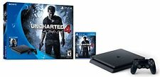 PLAYSTATION 4 PS4 Slim 500GB Console - Uncharted 4 Bundle