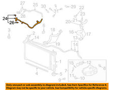 Buick GM OEM 06-07 Rendezvous 3.5L-V6 Radiator-By-pass Pipe 12594454