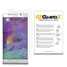 2X For Samsung Galaxy Note 5 EZguardz Premium Tempered Glass Screen Protector