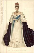 Royalty - Queen Alexandra - Stewart & Woolf #105 c1905 Postcard