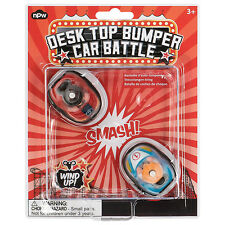 Desk Top / Boys Toys - Wind Up Bumper Cars - Classic Novelty Retro Collectable