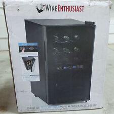 Wine Enthusiast Silent 18 Bottle Dual Zone Touchscreen Wine Refrigerator (27155)