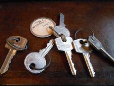 Vintage Triumph MG Wilmot Breeden Union Motorcycle Factory Pre Cut Key 11/10