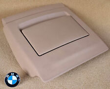 OEM BMW E38 E39 7 5 Series Lower Backrest Cover Comfort Seat Trim Beige 8161543