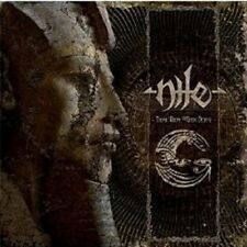 "NILE ""THOSE WHOM THE GODS DETEST"" CD DIGIPACK NEU"