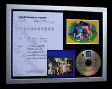 THE SLITS Grapevine GALLERY QUALITY CD FRAMED DISPLAY+EXPRESS GLOBAL SHIP+CUT