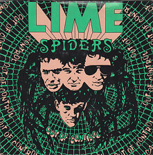 LIME SPIDERS - out of control 7""