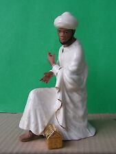 LENOX Nativity OH HOLY NIGHT BALTHAZAR KING African American Kneeling