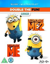 Despicable Me 1 & 2 BLU-RAY Box Set --- BRAND NEW --- FACTORY SEALED