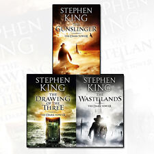The Dark Tower Series Collection Stephen King 3 Book Set Pack The Gunslinger NEW
